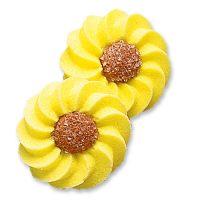 Жёлтые маргаритки, сахарные фигурки