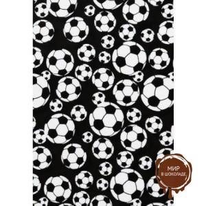 Трафаретный лист-пленка футбольный мяч