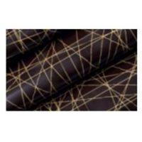 Трафаретный лист-пленка линии, цвет металлик (золото)