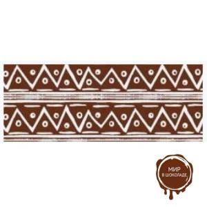 Трафаретный лист-пленка африканский узор