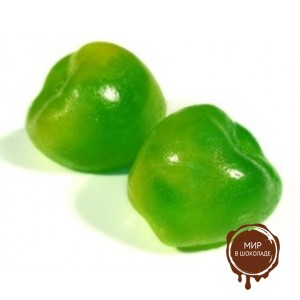 """Фигурки из мармелада """"Яблочки зеленые"""""""
