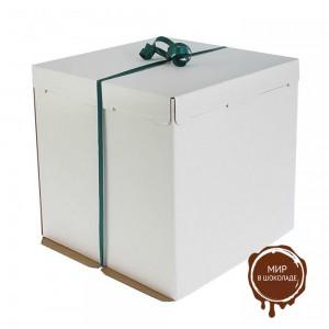 Короба для тортов весом до 10 кг., белые, упаковка 10 шт.