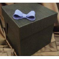 Упаковка для торта 25 х 25 х h20 см., черная