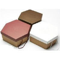 Упаковка для торта 32 х 29 х h15 см., коричневая