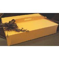 Упаковка для торта 36 х 47 х h12 см., желтая