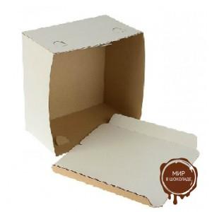 Короба для тортов, белые, упаковка 100 шт.