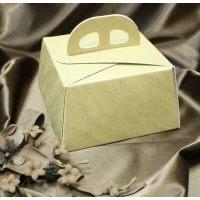 Упаковка для торта светло-коричневая, в двух размерах