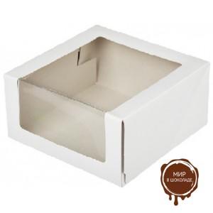 Короба с окном для тортов, упаковка 50 шт. и 75 шт.