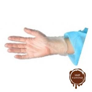 Перчатки одноразовые, виниловые