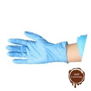 Перчатки одноразовые, нитриловые