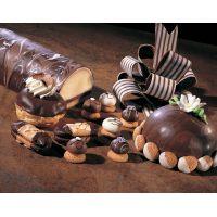 Темная глазурь шоколадная Скалдис Дарк, 10 кг.