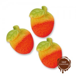 Фигурки марципановые яблочки