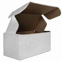 Гофрированный ящик бел/бур 120*60*60 для пирожных из микрогофрокартона
