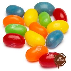 Драже жевательное Jelly Belly ассорти кислые фрукты, 1 кг. Под заказ!