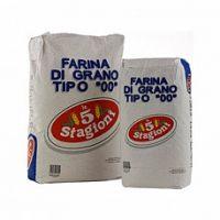 """Мука Le 5 Stagioni из мягких сортов пшеницы типа 00 """"Усиленная"""" (зелёный лейбл), 25 кг."""