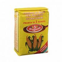 Мука кукурузная Le 5 Stagioni для поленты Полента истантанеа, 1 кг*10 шт.