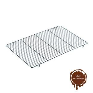 Решетка металлическая прямоугольная 400х600 мм, 1 шт.