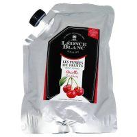 Пюре Вишня Leonce Blanc Франция дой-пак, 1 кг.