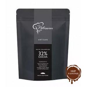 Шоколад Patissier белый 32% Сингапур,  2,5 кг