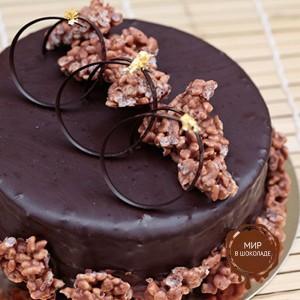 Глазурь пастообразная шоколадная ГАБРИЭЛА ТЕМНАЯ IRCA, 5 кг.