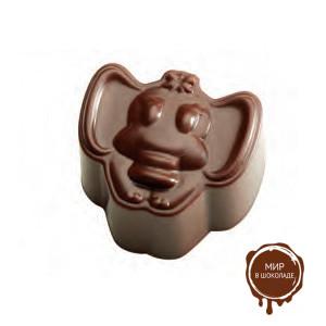 Форма для конфет ПРАЛИНЕ слоник PC25 ,1 шт.
