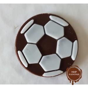 """Декор """"Футбольный мяч"""" черный , коробка 640 шт"""