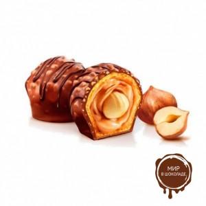 Шоколадно-ореховая начинка НОЧЧИОЛАТА ИНДАСТРИ IRCA, 13 кг.
