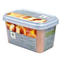 Замороженное пюре Желтый персик Ravifruit, 1 кг