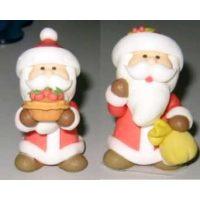"""САХАРНАЯ ФИГУРКА - """"Дед Мороз в длинной шубе"""", 4,5 см."""