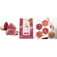 РУБИ (Ruby) РУБИНОВЫЙ ШОКОЛАД В ГАЛЕТАХ 47,3% какао, Callebaut /Бельгия/, 2,5 кг.