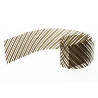 Бордюрная лента пленка Диагональ для обтяжки тортов 40 мкм., h 45 мм, 510 м, 1 ролик