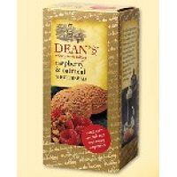 "Сливочное печенье ""Raspberry&Oatmeal Rounds"" с малиной"