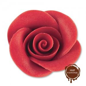 Фигурки марципановые розы, большие красные
