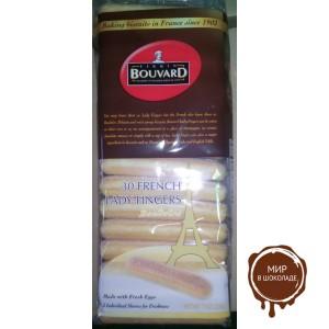 """Печенье бисквитное французское """"дамские пальчики"""" Boudoirs для приготовления тирамису"""