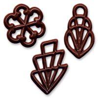 Шоколадная филигрань, 570 шт