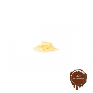 Украшения шоколадные ПОЛОСКИ белые 15 мм Бельгия, 2 кг.