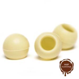 Трюфельные шарики из белого шоколада ТРЮФЕЛЬ белый, 504 шт.
