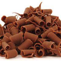 СТРУЖКА молочная шоколадная 9 мм Бельгия, 2 кг.