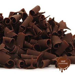 Шоколадная стружка из темного шоколада, Бельгия, 2 кг.