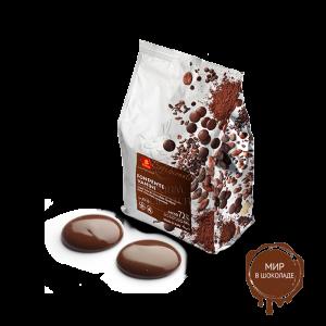 Шоколад молочный Ванини 39%, Италия, 4 кг.