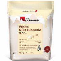 Белый шоколадный кувертюр Nuit Blanche 37%, 1,5 кг, Швейцария