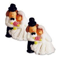 "Свадебная фигурка из сахара ""Свадебная Пара"", 24 шт."