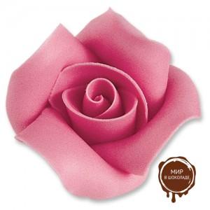 Фигурки марципановые розы, большие розовые