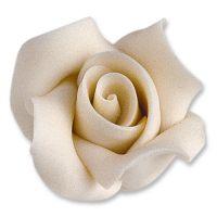 Фигурки марципановые розы, большие белые