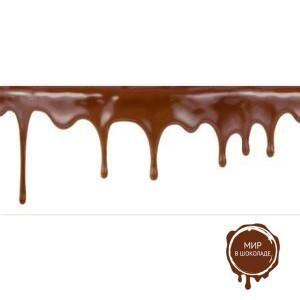 "Бордюрная пленка-лента ""Шоколад"""