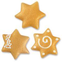 Фигурки марципановые большие звезды