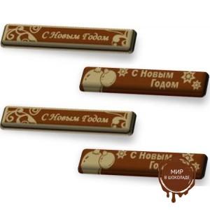 """Формы с переводным рисунком для шоколада - """"Поздравительная вставка"""", 144 шт."""