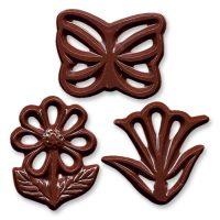 Шоколадные цветочки