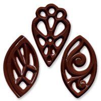 Шоколадная филигрань, большая