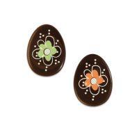 """Шоколадный декор """"Пасхальное яйцо"""""""